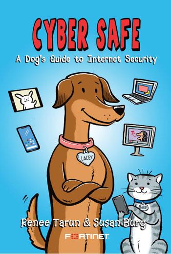 "Fortinet Cyber Safe Children's Book. צילום: יח""צ פורטינט."