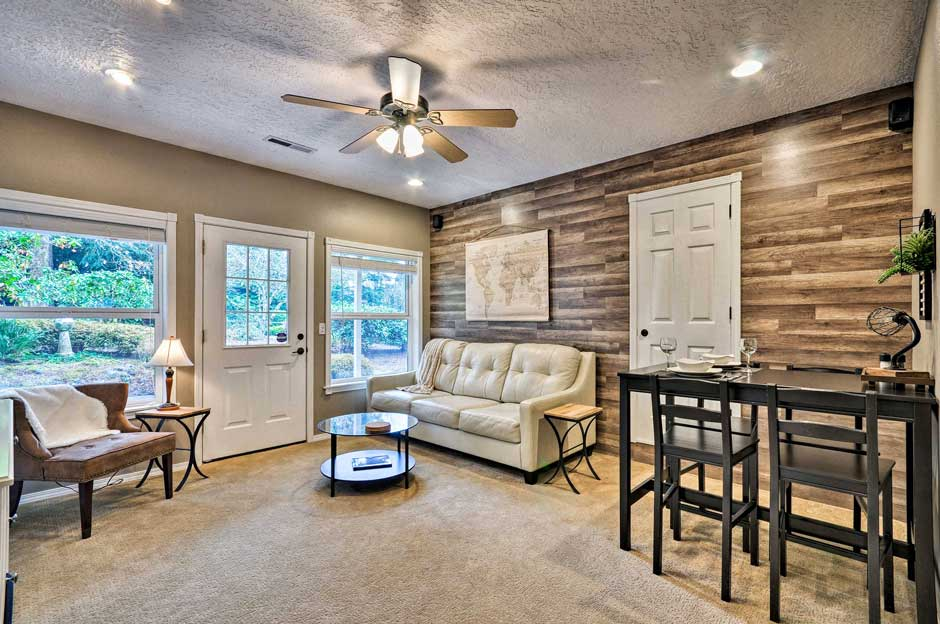 Secluded Pdx Area Townhome ½ Way To Mt. Hood